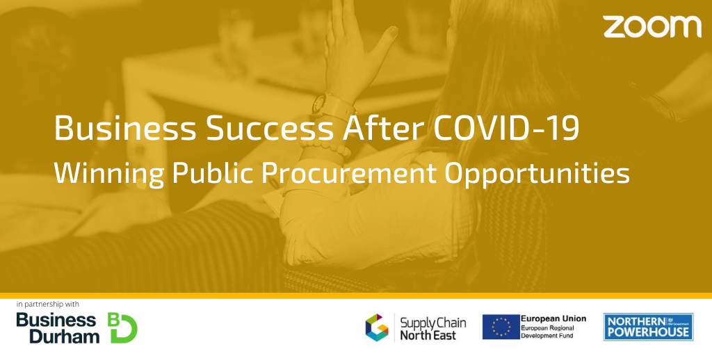 Business Success After COVID-19:Winning Public Procurement Opportunities